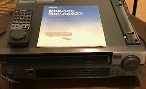 Sony Laserdisc Player - Manual and Remote Included - PLEASE READ DESCRIPTION!!!