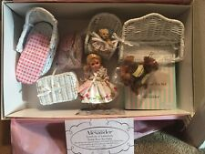 Teddy Bear Tea Party-Madame Alexander-with furniture, bears, and tea set #33745