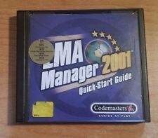 Sony Playstation - LMA Manager 2001 - Game
