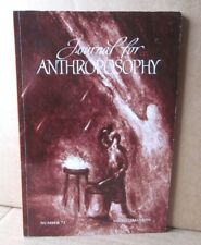 JOURNAL FOR ANTHROPOSOPHY social transformation Rudolph Steiner journal 2001