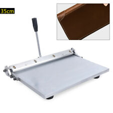 Stainless Steel 35cm Folding Machine Silver Leather Creasing Equipment 35cm