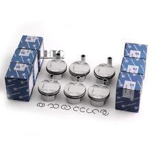 6x Pistons Rings KS STD Low Compression 9.7:1 For BMW E60 E90 325i 523i N52B25