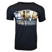 Mens Tee T Shirt Bahama Beach Hawaiian Surf Aloha Surfing Relax 100% Cotton NEW