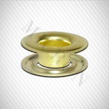"Micron #1 (5/16"") Brass Self-Piercing Grommets & Washers, 500 Pcs Set Per Bag"