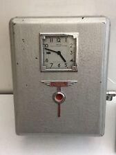 Smiths Everprint Clocking In Clock 1940s Era Complete Industrial Station Vintage