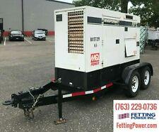 70kVA Multiquip MQ Power Mobile Diesel Generator DCA-70USI2 | S/N: 8802056
