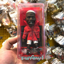 Paul Pogba Action Figure Manchester Statue Red Devils Football Souvenirs 4.8''