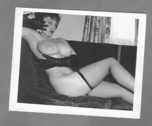 Lorraine Burnett 1950`s Original. silver gelatin, fiber base 4 x 5 photograph.