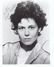 Sigourney Weaver, Autographed 8x10 Photograph