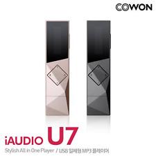 Cowon iAudio U7 Portable Usb Mp3 Player Radio,Voice Recorder-Oled 32Gb/Black