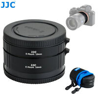 JJC Automatic Extension Tube for Sony E mount A7 III A7SII A7R A6500 A6400 A6300