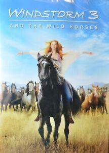 Windstorm 3 and the Wild Horses (DVD, 2016, WS)  Hanna Binke, Amber Bongard  NEW