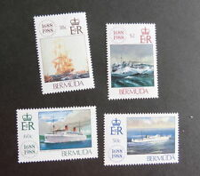 Mint Never Hinged/MNH Ships, Boats Bermudian Stamps