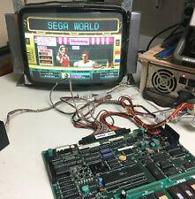 Sega Alien Storm Jamma Arcade Circuit Board, Pcb, 1990, Needs Repair, Touchy