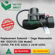 Replacement Solenoid -Onga WaterSwitch WS1500120(Old Model) 12VDC 7W ATS 5200.3