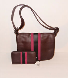 COACH 75th Annivesary Saddle Bag F57459 Limited Edition NEW Wallet F57463