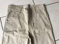 Pantalon chino KAPORAL taille 12 Ans coton Beige