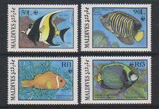 Maldivian Fish Asian Stamps