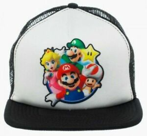 Nintendo Super Mario World Characters Adjustable Snapback Cap/Hat