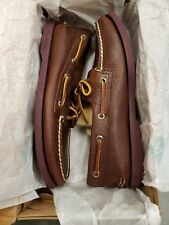 Sperry Top-Sider A/O 2-Eye Size: 7M Color: Sole Brown Boat Shoe  RETURNED!