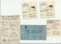 Certificados de semillas Aragon , Zaragoza y Navarra 1962, 1961, 1964
