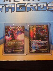Hydreigon EX 62/108 + Hydreigon EX Full Art 103/108 Ultra Rare Roaring Skies