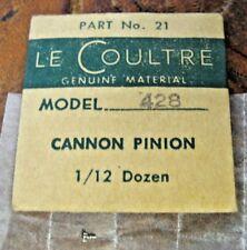 LeCoultre Cannon Pinion Cal. 428  Part # 21