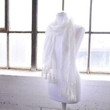 Bufandas y pañuelos de mujer estolas blancos