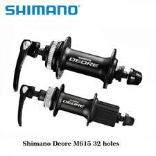 Shimano Deore M615 Disc Hub Front & Rear QR Centerlock Hubs 32 holes Fit 10/9/8S