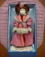 Royal Doulton Kate Greenaway The Muff Doll Le# 0057/5000 Nib w/Signed Coa &Stand
