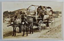 Antique Real Photo Postcard-Travling Vagabond-El Paso Texas-1946