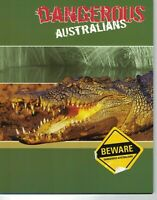 AD190) Australia 2008 Dangerous Australians Wildlife Stamp Pack MUH