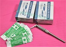 Round Pattern Adjustable 7 Ways Scalpel Handle 3100 Sterile Surgical Blade15c