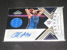 COLE ALDRICH HAND SIGNED AUTOGRAPHED CERTIFIED AUTHENTIC PACK PULLED JERSEY CARD