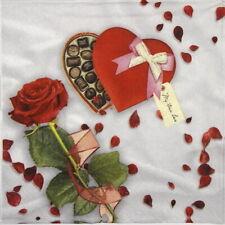 4x Paper Napkins for Decoupage Craft Paper Napkin - My true love