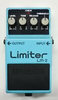 BOSS LM-2 Limiter Guitar Effects Pedal made in Japan 1988 #18 Free Shipping