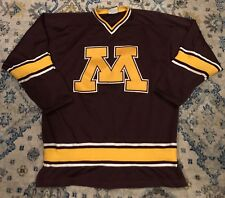 Hockey-other 2000s University Of Minnesota Gophers Nike Team Hockey Jersey Championship Year