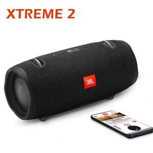JBL Xtreme 2 BLACK Portable Waterproof Bluetooth Stereo Extreme Wireless Speaker