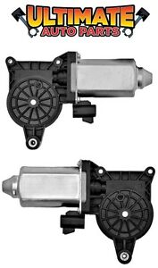 Front Power Window Motors Pair Left Right for 99-06 Chevy Silverado 1500