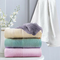 """2 Pack Luxury Bamboo Towels Bath Towel Set Soft & Absorbent for Bathroom 27""""x54"""""""