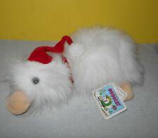 1989 Xmas Santa Hat Googles Platypus Santa Christmas Ganz Bros Plush With Tags