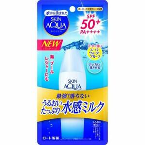 Rohto Skin Aqua Super Moisture Milk UV with SPF50+ PA++++ 40ml Japan