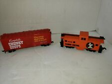 life like bachman Vintage ect HO Scale train Box car rail car good condition lot