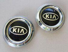 """2003-06 Genuine OEM Kia Sorento Wheel Center Caps 52960-3E020 Chrome 3-5/8"""" USED"""