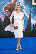 ICONIC CHIC GORGEOUS 2DIE4 ELEGANT CLASSY  Dolce Gabbana white lace dress