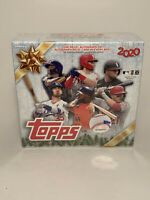 2020 Topps Holiday Mega Box Sealed MLB Baseball Walmart Exclusive