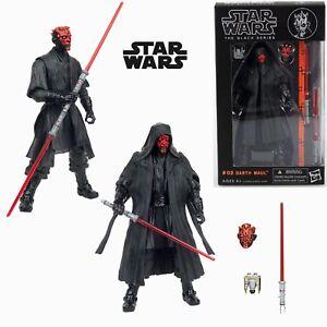 Star Wars Figura Black Series #02 Darth Maul Nuevo En Caja Figurine