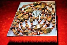 Sterling Silver & Leopard Jasper Jewelry Set Lovely Mothers Day Gift For Her