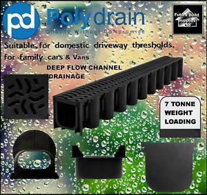 Heavy duty Deep Flow Storm Water Channel Drainage PVC Channel Driveway Aco Drain