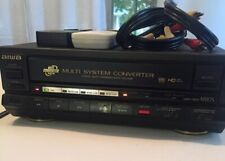 New listing Aiwa Multi System Converter - M110S /Preowned With Remote/ Tested